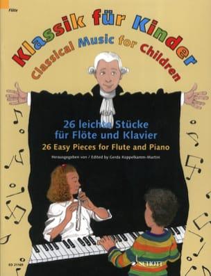 Klassik für Kinder - Flûte et Piano Partition laflutedepan