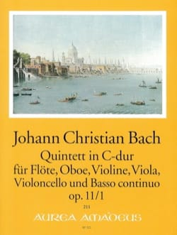 Quintette C-Dur op. 11 n° 1 Johann Christian Bach laflutedepan