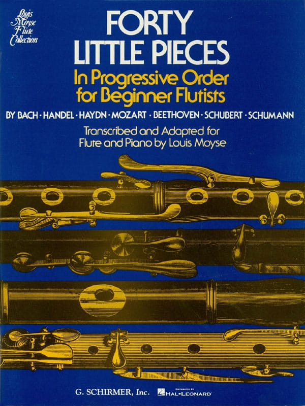 40 Little pieces - Partition - laflutedepan.com