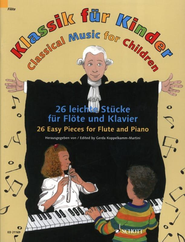 Klassik für Kinder - Flûte et Piano - Partition - laflutedepan.com