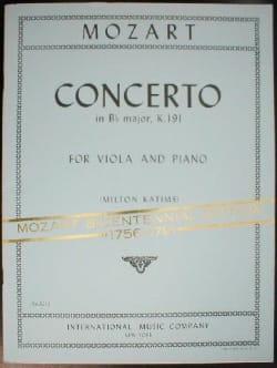 Concerto in B flat major KV 191 - MOZART - laflutedepan.com