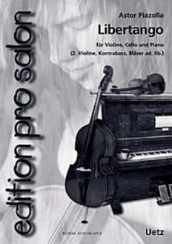 Libertango Astor Piazzolla Partition Trios - laflutedepan
