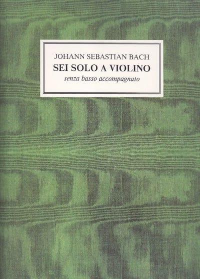 Sei Solo a Violino - Johann Sebastian Bach - laflutedepan.com