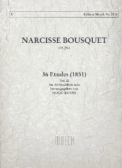 36 Etudes 1851 - Volume 2 Narcisse Bousquet Partition laflutedepan