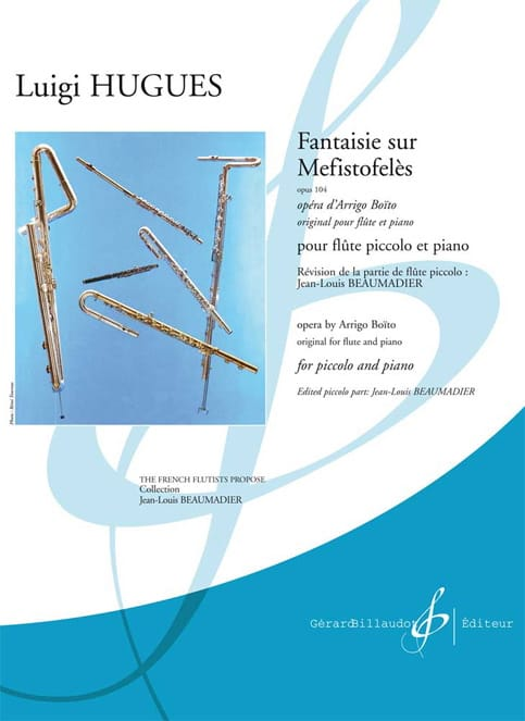Fantaisie sur Mefistofelès Op.104 - Luigi Hugues - laflutedepan.com