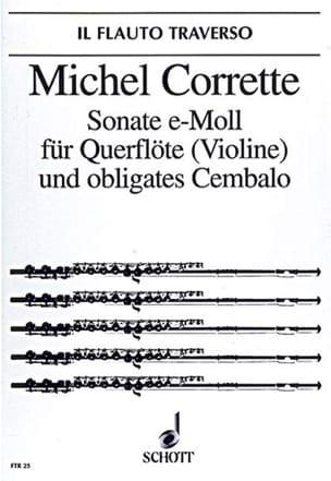 Sonate e-moll op. 25 n° 4 - Flöte Violine obl. Cembalo laflutedepan