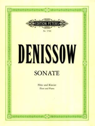 Sonate - Flöte Klavier Edison Denisov Partition laflutedepan