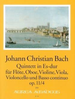 Quintette Es-Dur op 11 n° 4 Johann Christian Bach laflutedepan