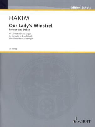 Our Lady's Minstrel - Clarinette et Orgue Naji Hakim laflutedepan