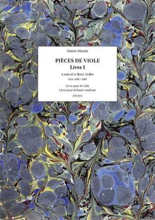 Pièces de Viole - Livre 1 Marin Marais Partition laflutedepan