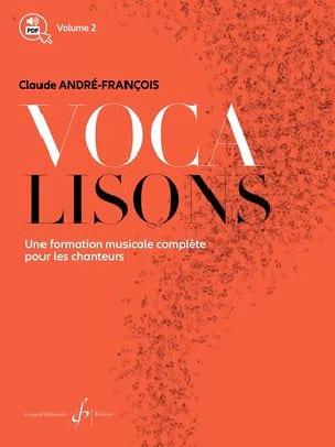 Vocalisons Volume 2 - Claude André-François - laflutedepan.com