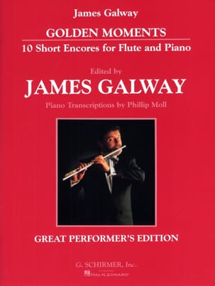 Golden Moments - Flute And Piano James Galway Partition laflutedepan