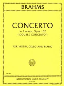 Concerto in A minor op. 102 Double concerto -Vln, Vc, Po laflutedepan