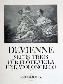 6 Trios Bd. 1 - Flöte Viola Violoncello - Stimmen laflutedepan