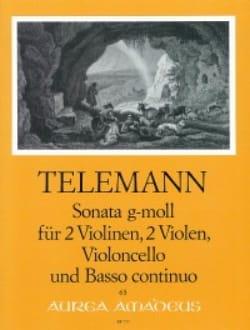 Sonat en Sol Mineur TELEMANN Partition Sextuors - laflutedepan