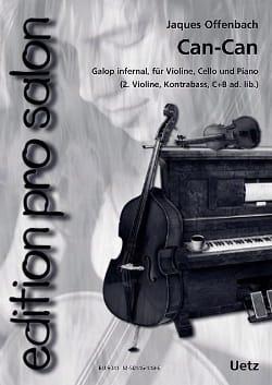 Can-Can Galop Infernal OFFENBACH Partition Trios - laflutedepan