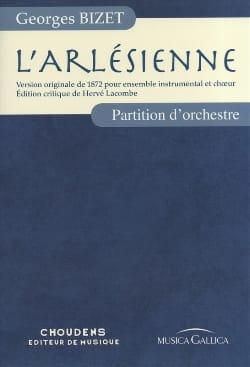 L' Arlésienne - Full Score BIZET Partition Grand format - laflutedepan