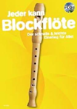Jeder kann Blockflöte Partition Flûte à bec - laflutedepan