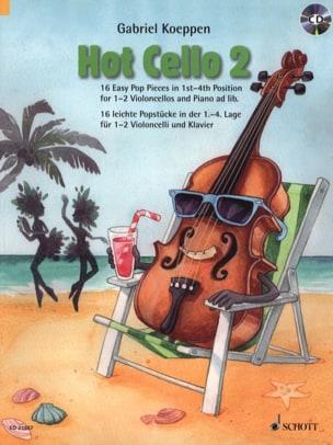 Hot Cello 2 Gabriel Koeppen Partition Violoncelle - laflutedepan