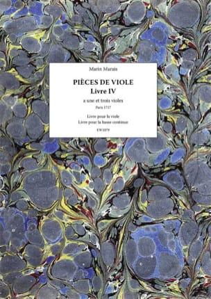 Pièces de Viole - Livre 4 Marin Marais Partition laflutedepan