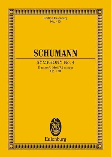 Sinfonie Nr. 4 d-Moll - SCHUMANN - Partition - laflutedepan.com