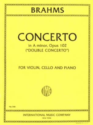 Concerto in A minor op. 102 Double concerto -Vln, Vc, Po - laflutedepan.com