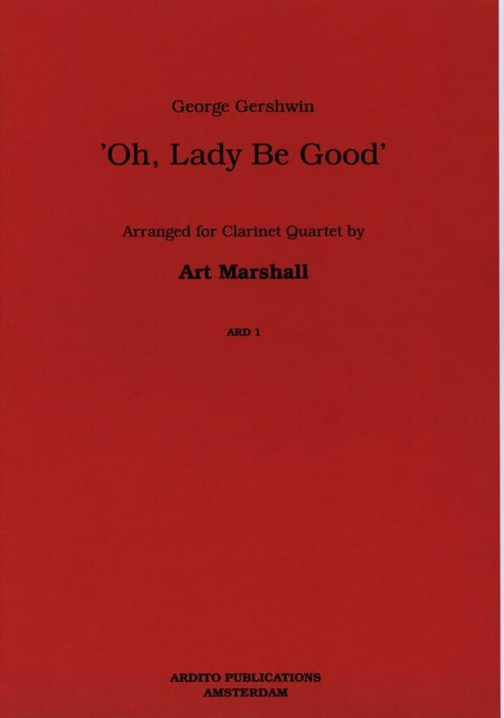 Oh, Lady be good - Clarinet quartet - laflutedepan.com