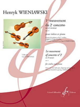 1er Mouvement Du 2ème Concerto En Ré Min. Op.22 - laflutedepan.com