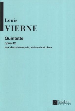 Quintette op. 42 VIERNE Partition Quintettes - laflutedepan