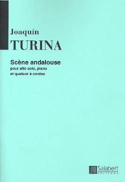 Scène andalouse TURINA Partition Sextuors - laflutedepan