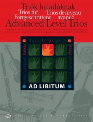 Trios de Niveau Avancés Andras Soos Partition Trios - laflutedepan