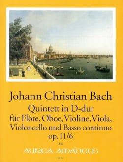 Quintette D-Dur op. 11 n° 6 Johann Christian Bach laflutedepan