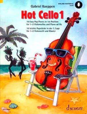 Hot Cello 1 Gabriel Koeppen Partition Violoncelle - laflutedepan