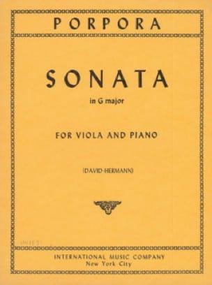 Sonata in G major - Nicola Antonio Porpora - laflutedepan.com