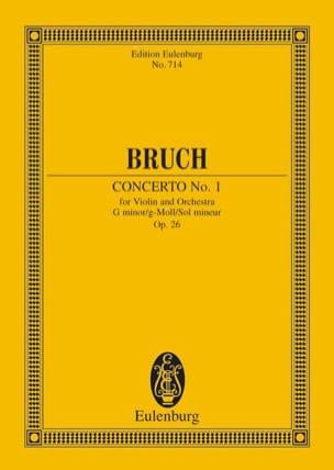 Concerto Pour Violon N°1 en Sol Min Op. 26 BRUCH laflutedepan