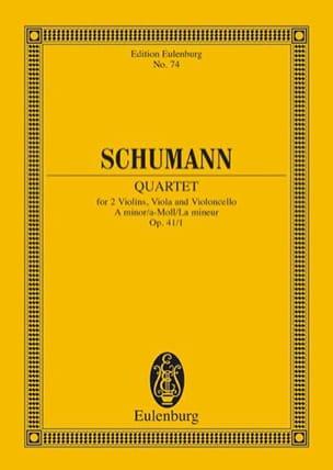 Streichquartett A-Moll Op. 41/1 - Conducteur SCHUMANN laflutedepan