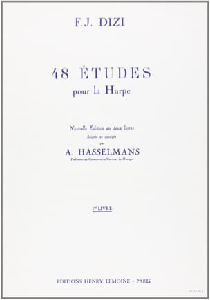 48 Etudes - Volume 1 F. J. Dizi Partition Harpe - laflutedepan