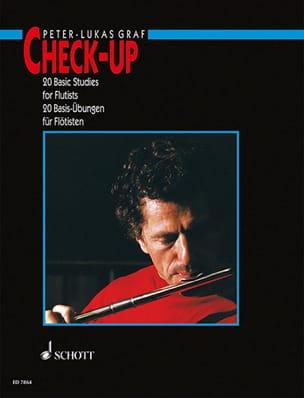 Check-Up - Flûte Anglais-Allemand Peter-Lukas Graf laflutedepan