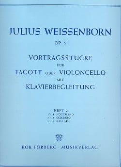 Vortragsstucke op. 9 - Heft 2 Julius Weissenborn laflutedepan