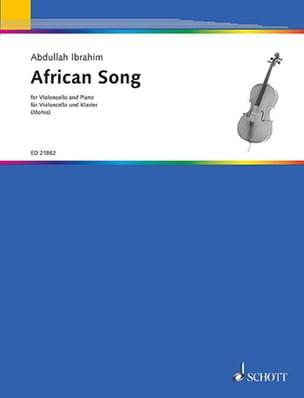 African Song Abdullah Ibrahim Partition Violoncelle - laflutedepan