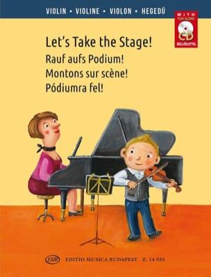 Let's Take the Stage! - Violon - Partition - laflutedepan.com