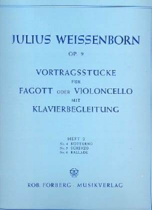 Vortragsstucke op. 9 - Heft 2 - Julius Weissenborn - laflutedepan.com