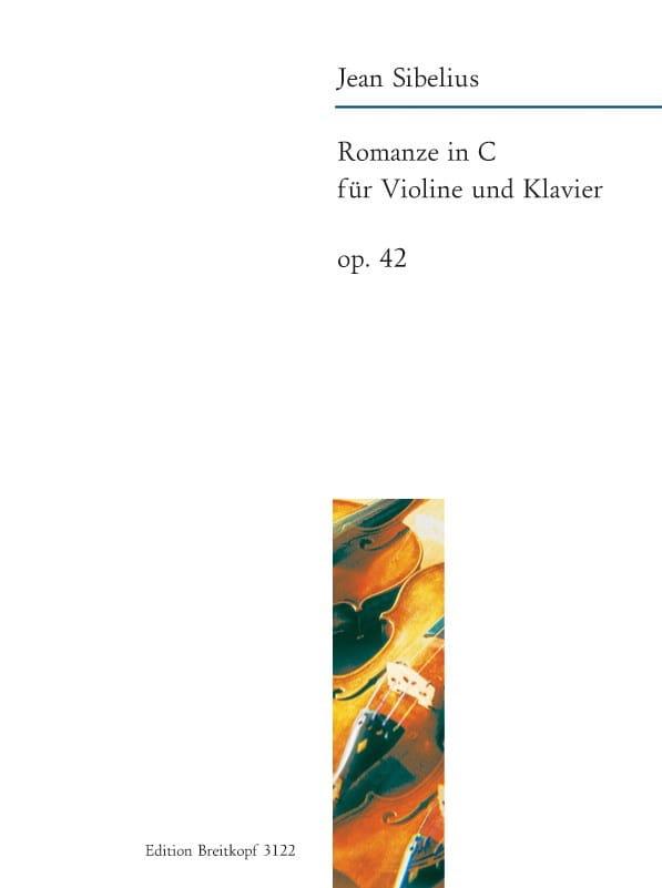Romance En Do Majeur Op. 42 - SIBELIUS - Partition - laflutedepan.com