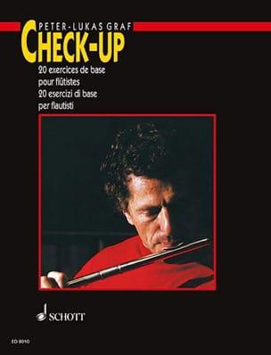 Check-Up - Flûte Français-Italien Peter-Lukas Graf laflutedepan