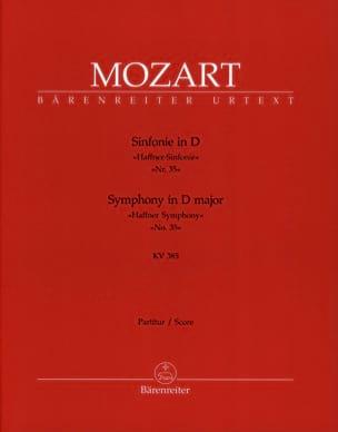 Symphonie Nr. 35 D-Dur Haffner KV 385 - Partitur MOZART laflutedepan
