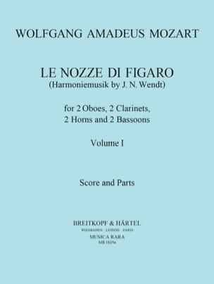 Le Nozze di Figaro Volume 1 -Harmoniemusik - Score + Parts laflutedepan