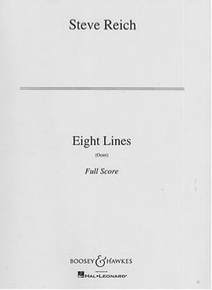 Eight Lines Steve Reich Partition Grand format - laflutedepan