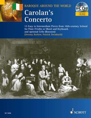 Carolan's Concerto Steinbach / Barlow Partition laflutedepan