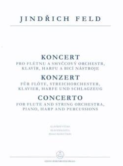 Concerto For Flute - Flûte et Piano Jindrich Feld laflutedepan