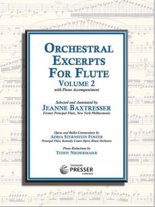 Orchestral Excerpts for Flute Vol. 2 - laflutedepan.com